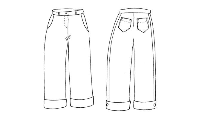Pantalon Plume